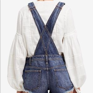 Free People Jeans - Free People Denim Overall